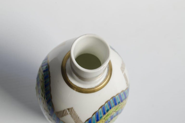 Porcelain Camile Naudot Art Deco In Good Condition For Sale In Buenos Aires, Argentina