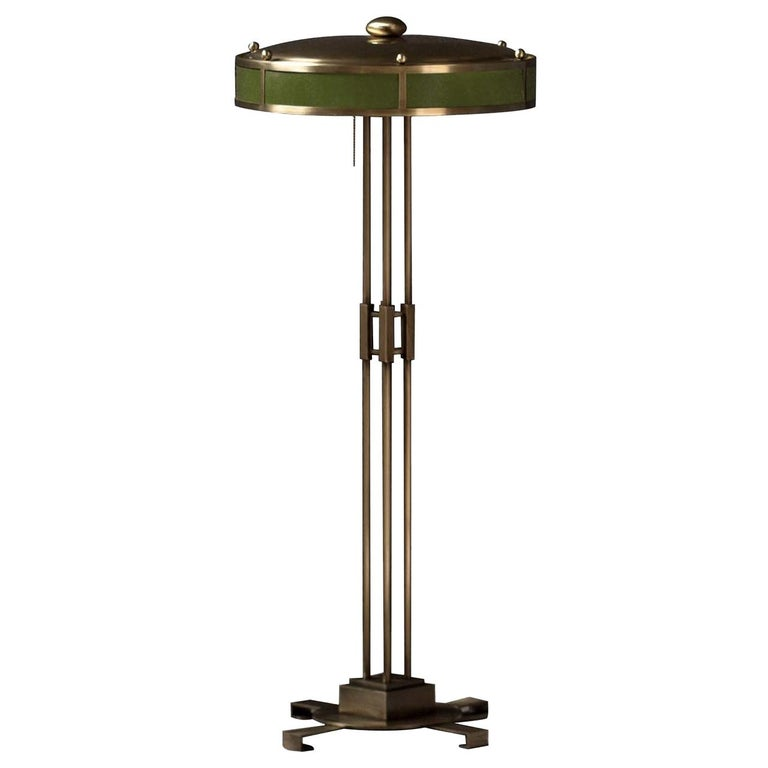 Poggibonsi Green Floor Lamp