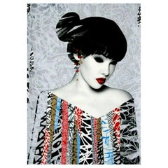 Poise, Limited Edition Screen Print by HUSH