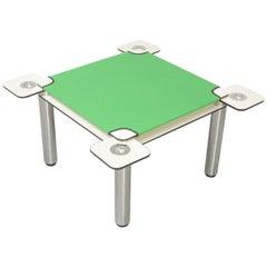 Poker, Card Table by Joe Colombo for Zanotta, 1968