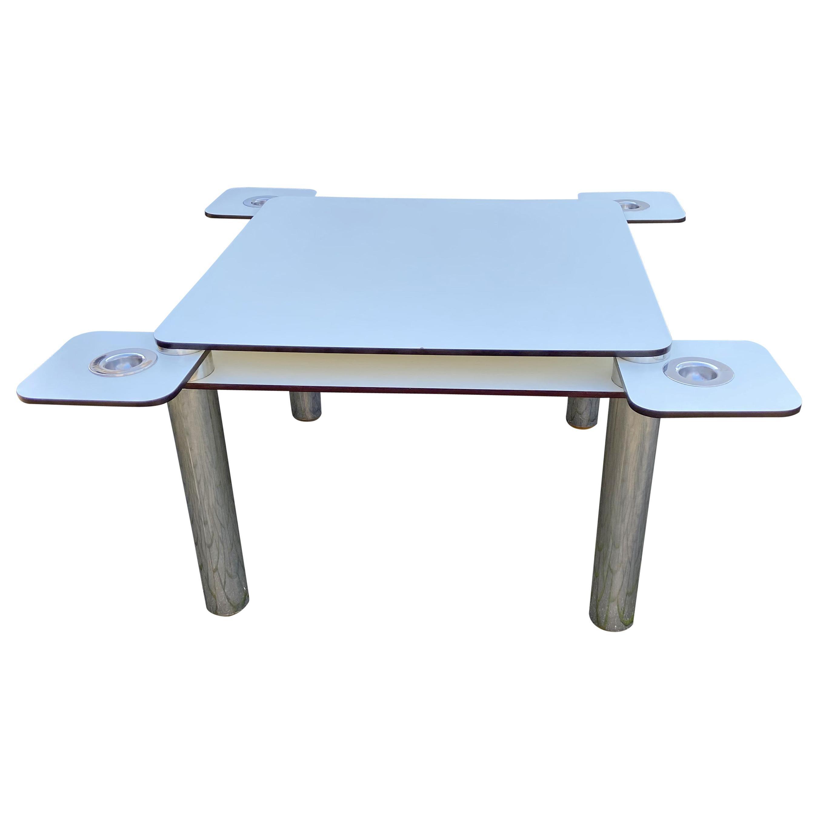 Poker Table by Joe Colombo for Zanotta
