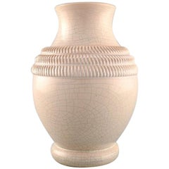 Pol Chambost, France, Vase in Glazed Ceramics, 1930s