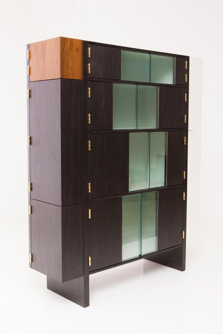 Pola Bar by Alva Design, Contemporary Brazilian Design In New Condition For Sale In Clifton, NJ