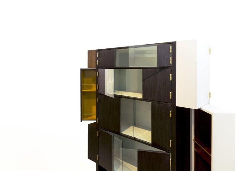 Pola Bar by Alva Design, Contemporary Brazilian Design For Sale 1