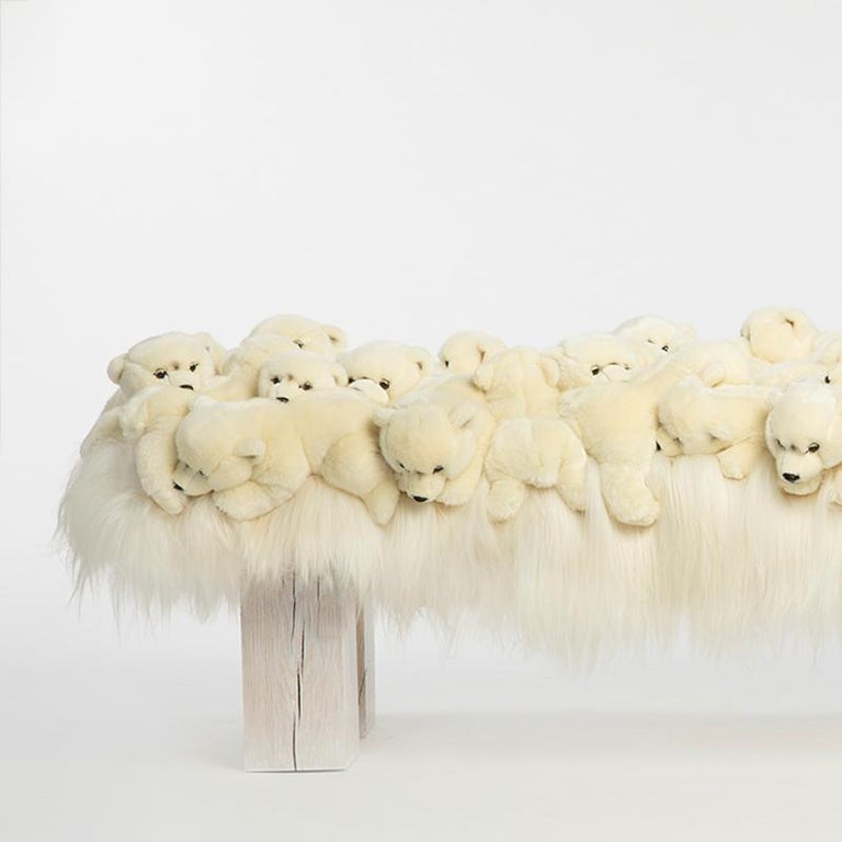Polar Bear Bench in Limited Edition In New Condition For Sale In Paris, FR