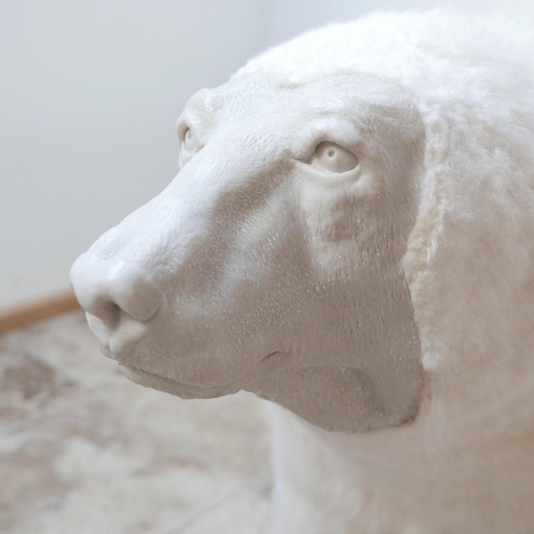 British Polar Bear Contemporary Art by Jose Granell Sculpture