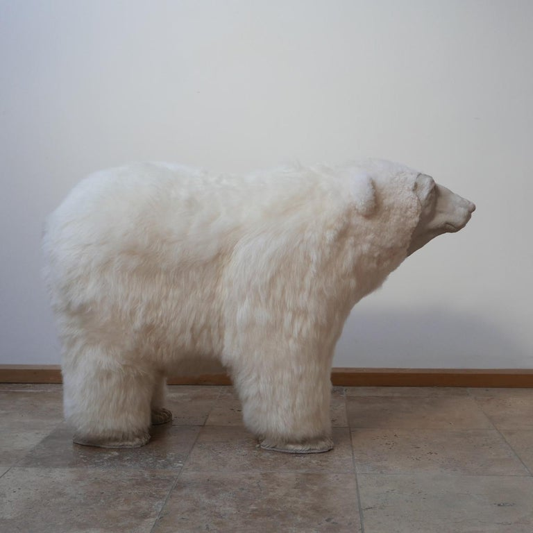 Polar Bear Contemporary Art by Jose Granell Sculpture In New Condition In Surbiton, Surrey