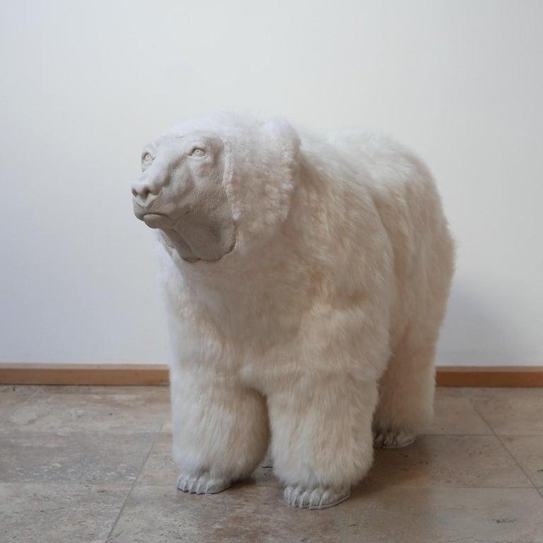 Polar Bear Contemporary Art by Jose Granell Sculpture 1
