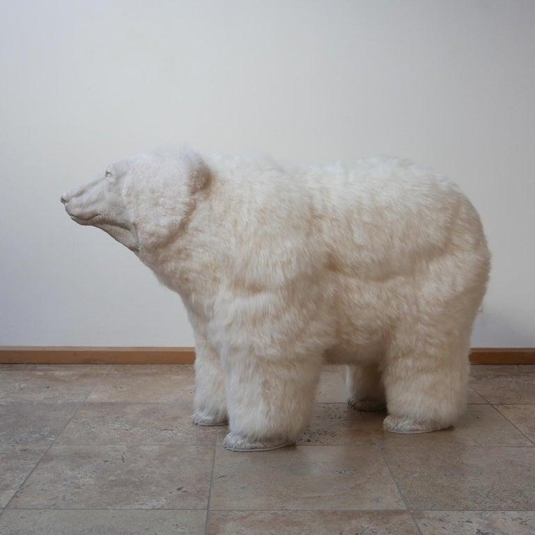 Polar Bear Contemporary Art by Jose Granell Sculpture 2
