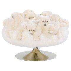 Polar Bear Stool