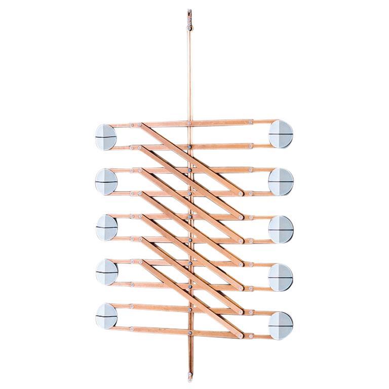Polar Play Pendant Light, Copper Decorative Light, by Vantot, Europe For Sale