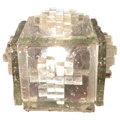 "Poliarte ""APIS"" Table Lamp Murano Glass, 1960, Italy"