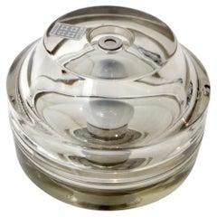 Poliarte Italian Glass Table Lamp for Fidenza Vetraria