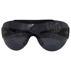 Police blue mask sunglasses