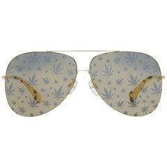 Police Mint Women Gold Sunglasses SPL406E62300L 62-11-140 mm