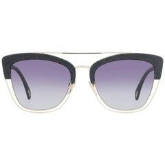 Police Mint Women Gold Sunglasses SPL618 540300 54-19-141 mm