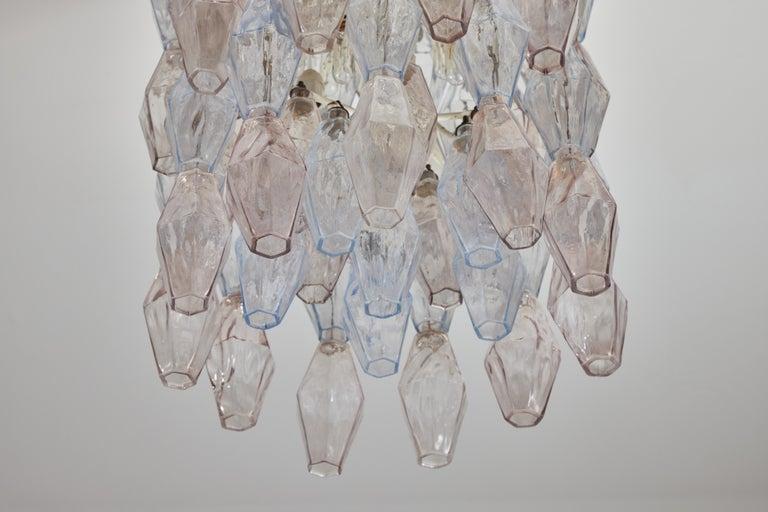 Poliedri Chandelier by Carlo Scarpa for Venini For Sale 5
