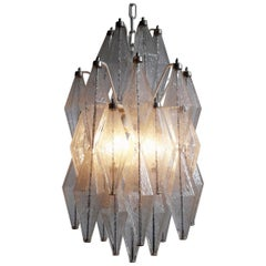 Poliedri Chandelier by Venini