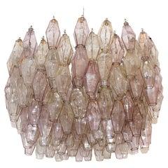 'Poliedri' Italian Lamp Designed by Carlo Scarpa and Edited by Venini 1950