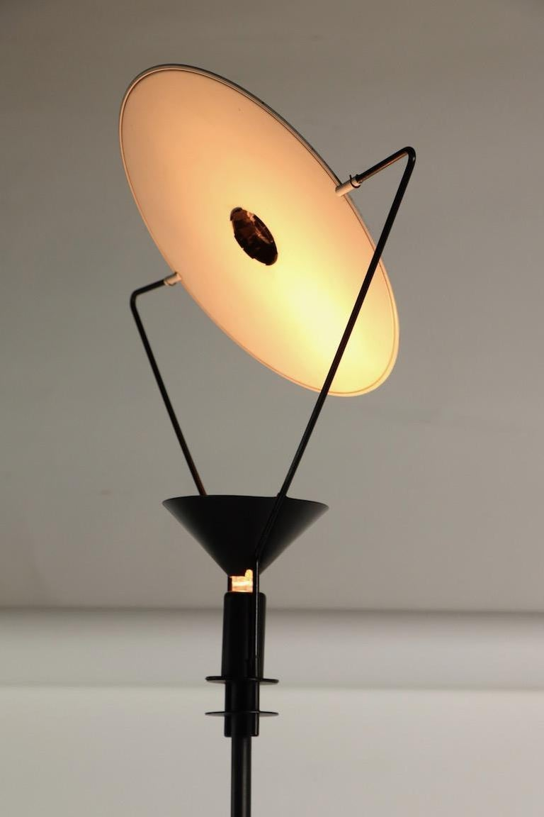 Steel Polifemo Floor Lamp by Carlo Forcolini for Artemide For Sale
