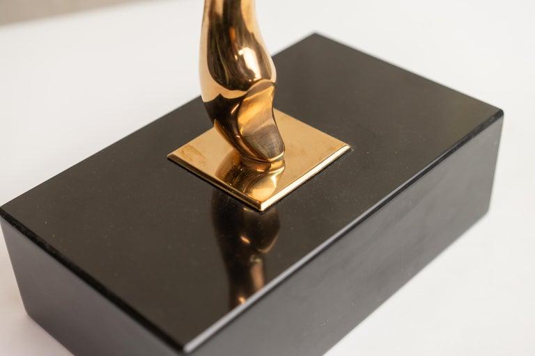 Polish Figural Bronze
