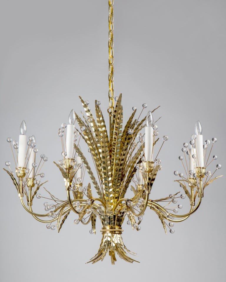 Thebouquet of feathers adorning the Plume chandelier call to mind the Rue de la Faisanderiein the 16tharrondissement of Paris, where a pheasant house once stood on the grounds of the Chateau de la Muette where Tony Duquette decorated the home of