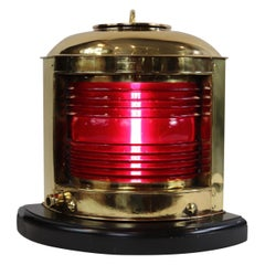Polished Brass Ships Port Lantern