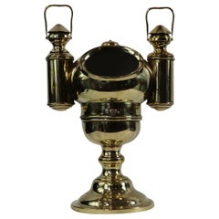 Polished Brass Yacht Binnacle