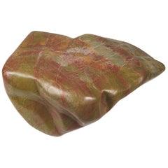 Polished Chinese Fugui Meditation Stone