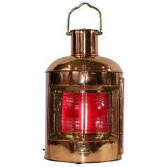 Polished Port Ships Lantern