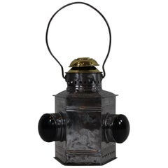 Polished Steel Boat Bow Lantern