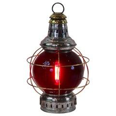 Polished Steel Ships Onion Lantern