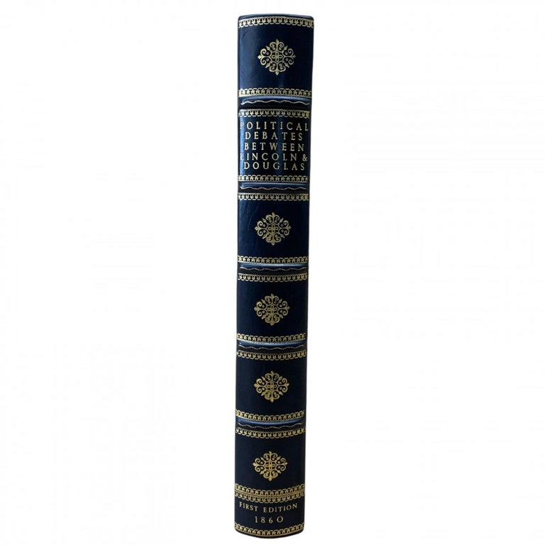 Paper Political Debates Between Abraham Lincoln and Stephen Douglas First Edition 1860 For Sale