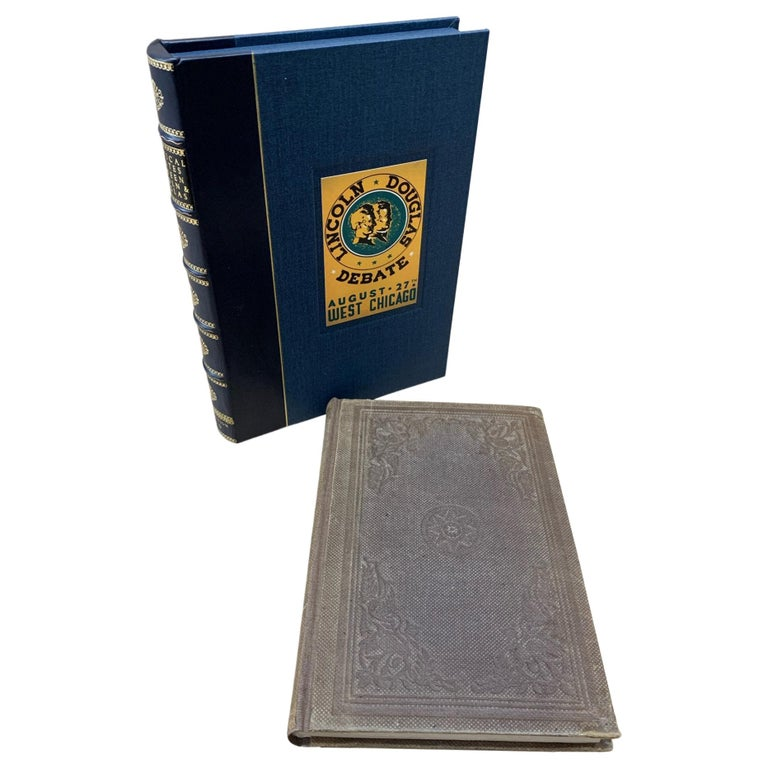 Political Debates Between Abraham Lincoln and Stephen Douglas First Edition 1860 For Sale