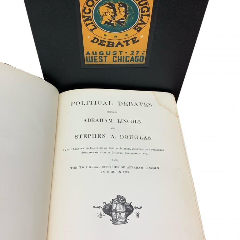 19th Century Political Debates Between Abraham Lincoln & Stephen A. Douglas, Limited Edition For Sale