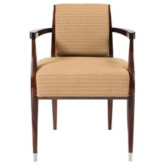 Pollaro Ruhlmann Reproduction Armchair in East Indian Rosewood
