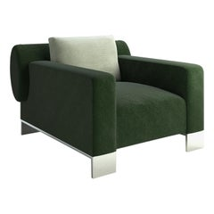 Pollock Green Armchair by Giannella Ventura
