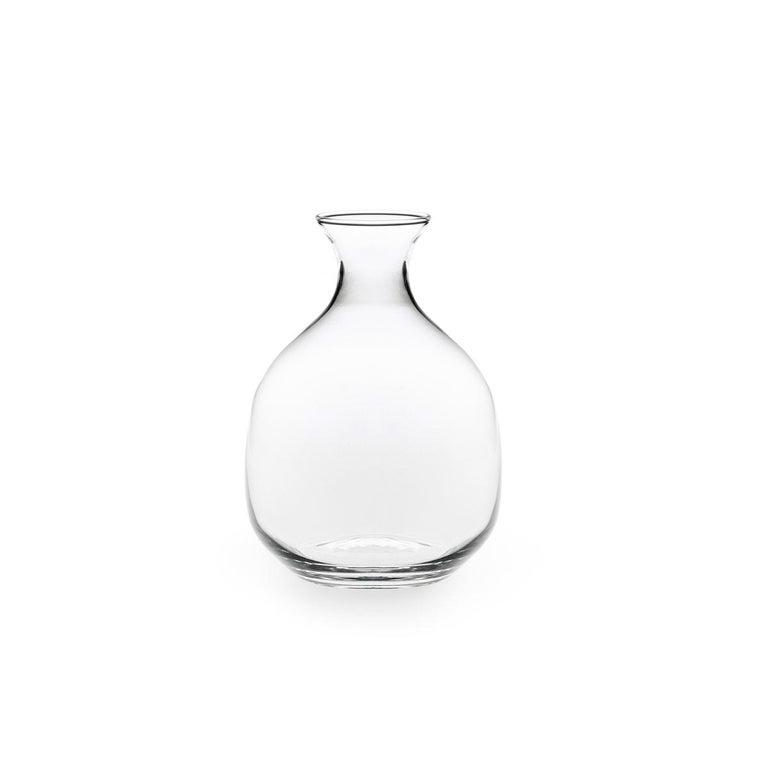 Polly Carafe in einem Schimmel Glas entworfen von Aldo Cibic geblasen 2