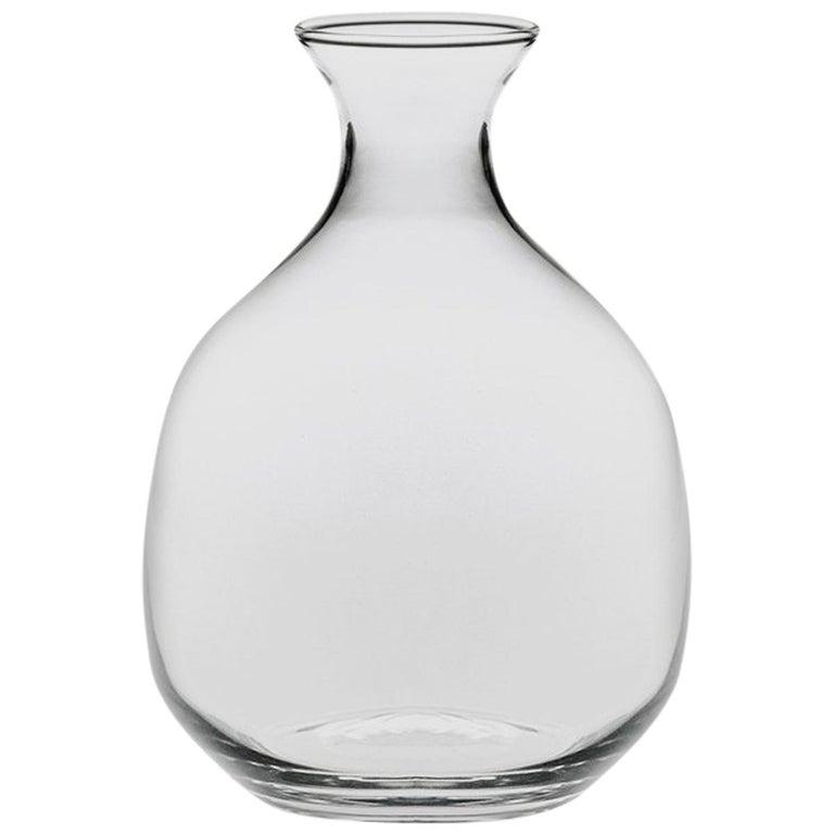 Polly Carafe in einem Schimmel Glas entworfen von Aldo Cibic geblasen 1