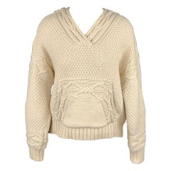 POLO by RALPH LAUREN Size S Cream Cotton / Polyester Oversized Sweater