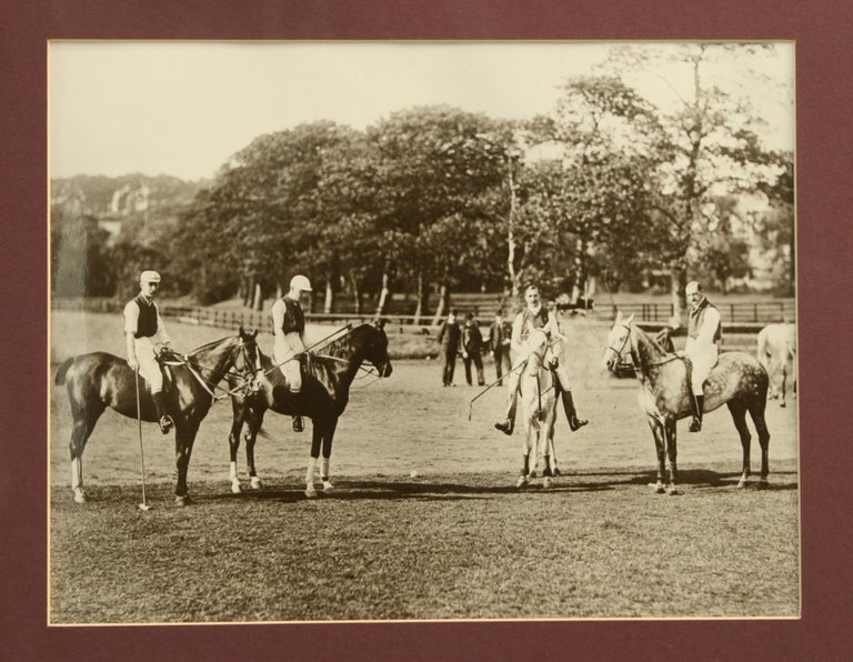English Polo Photograph For Sale