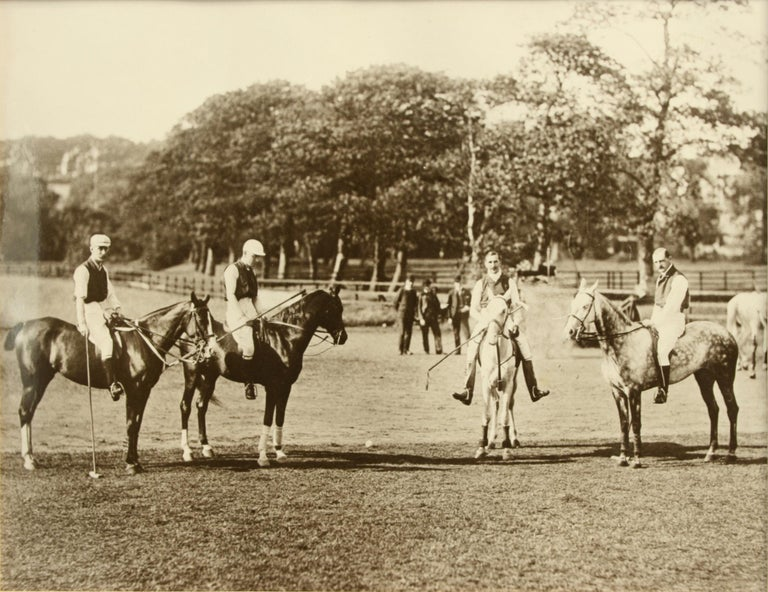Polo Photograph In Good Condition For Sale In Oxfordshire, GB