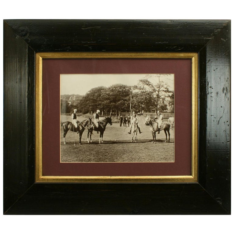 Polo Photograph For Sale
