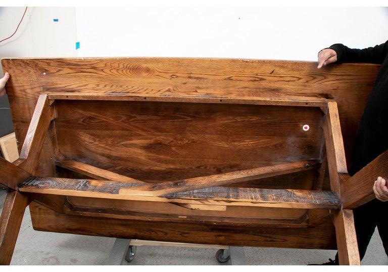 Polo Ralph Lauren Oak Farm Table  For Sale 1