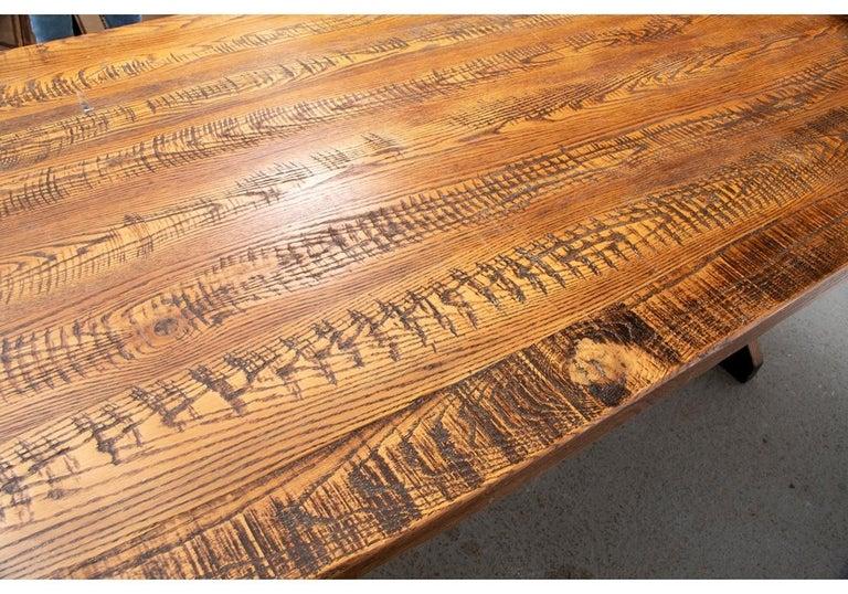 Polo Ralph Lauren Oak Farm Table  For Sale 3