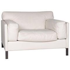 Poltrona Frau Leder Sessel Weiß