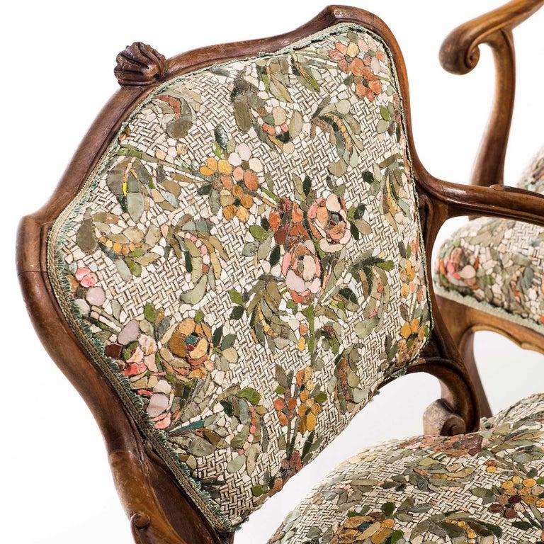 Poltrona Gemella Sessel mit Mosaik Sitz von Yukiko Nagai 4