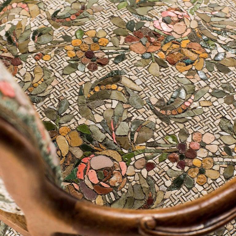 Poltrona Gemella Sessel mit Mosaik Sitz von Yukiko Nagai 5