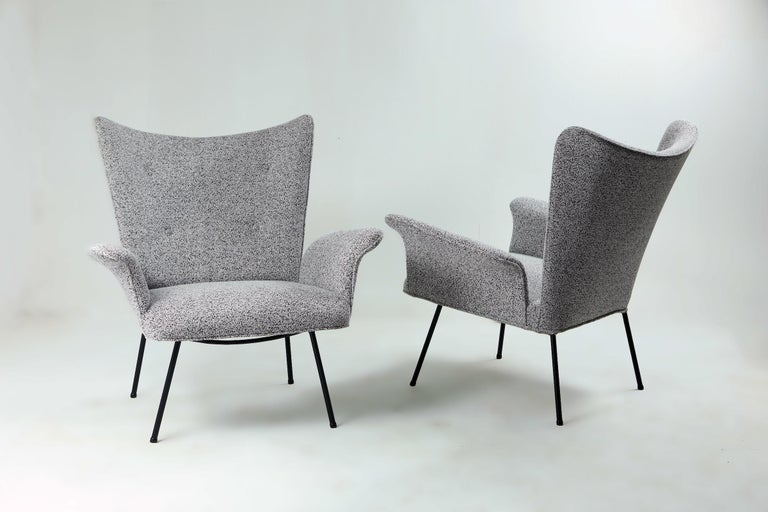 Hand-Woven Brazilian Mid-century Modern Armchair by Martin Eisler / Carlo Hauner For Sale