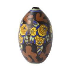 Polychrome Boch Keramis Vase